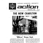 Cover of Anglican Home Mission Society 'Action'