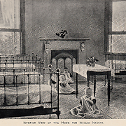 Interior view of the Home for Invalid Infants