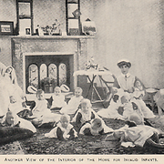 Another view of the interior of the Home for Invalid Infants