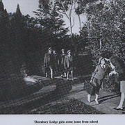Thornbury Lodge girls come home from school