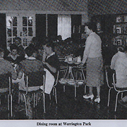 The dining room at Werrington Park