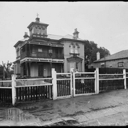 Cooinoo Home for Destitute Children on the corner of Emu Street and Liverpool Road, Burwood, New South Wales, ca. 1925