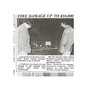 Fire damage up to $10,000