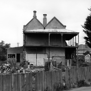The Normal School, later the Hobart Town Female Refuge, and then the Anchorage Home - before demolition
