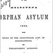 Melbourne Orphan Asylum, Fifteenth Annual Report