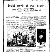 Social work of the church: child rescue agencies of Melbourne