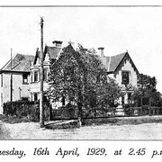 Dedication and opening of Kedesh: The new maternity home for unmarried mothers 131 Stevenson St., Kew. Tuesday 16th April 1929
