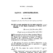 Aborigines Act Amendment Act 1936