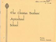 The Christian Brothers' Agricultural School, Tardun, Western Australia