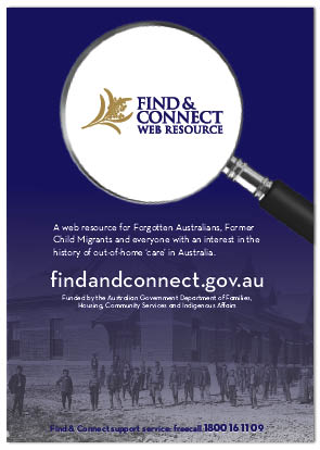 Image of generic Find & Connect web resource poster